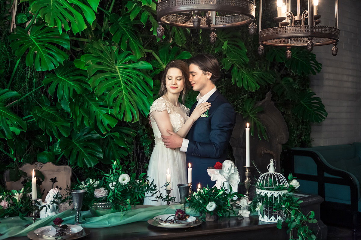 Маргарита и Артем - Свадьба в стиле Ромео и Джульетта