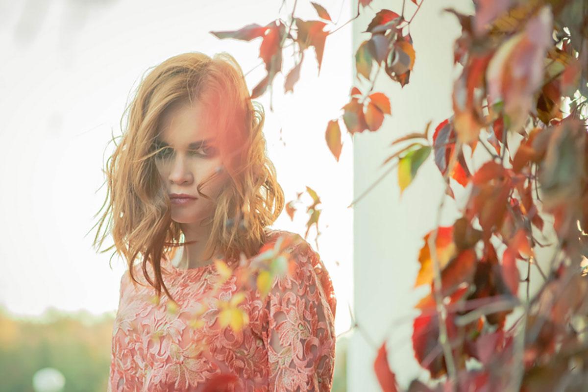 Женский портрет - Лилия